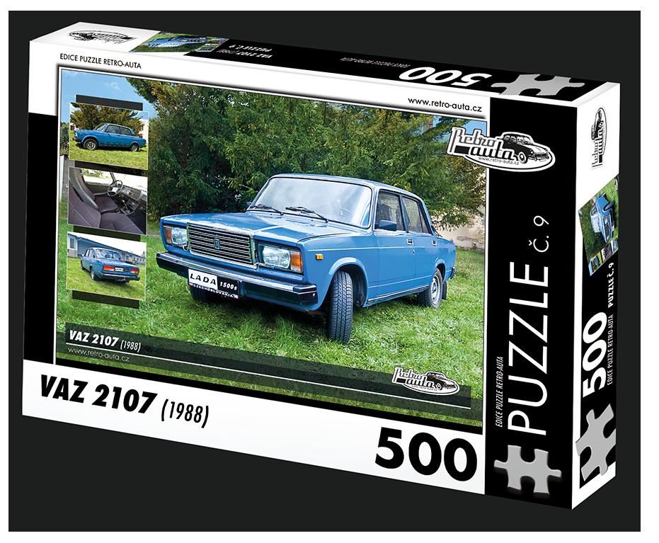 Puzzle č. 09 - VAZ 2107 (1988) 500 dílků