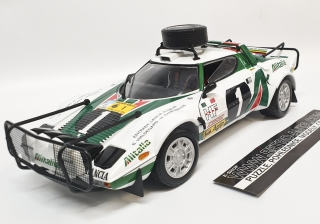 Lancia Stratos HF Rally No.1 Alitalia 1:18