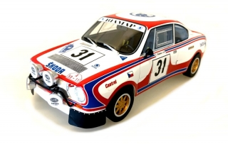 Škoda 130 RS n. 31 Rally Acropolis 1979 1:18