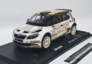 Škoda Fabia S2000 Gold Winners 1:18