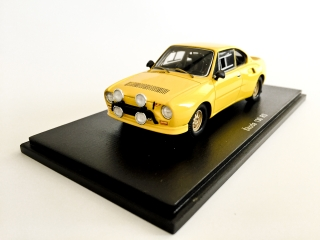 Škoda 130 RS Plain body version (žlutá) 1:43